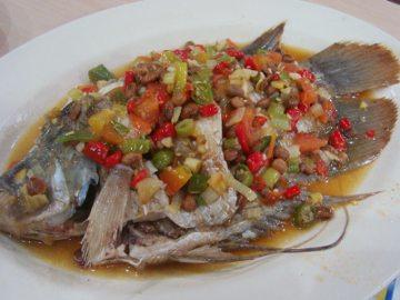 resep cara memasak ikan gurame steam tauco yang sangat