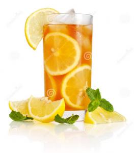 Membuat Minuman Es Lemon Tea Segar Dan Menyegarkan