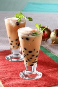 Resep Cara Membuat Teh Susu Bubble Karamel Cremy, Minuman Yang Menyegarkan