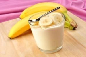 Resep Membuat Minuman Diet Jus Pisang Yougurt Kayumanis Menyegarkann