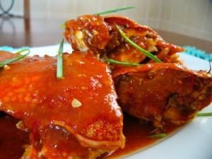 Masakan Kepiting Saus Tiram