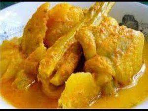 Membuat Ayam Kari Nanas