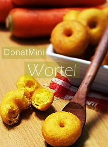 Membuat Donat Wortel