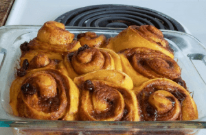 Membuat Roti Gulung Kayu Manis Empuk