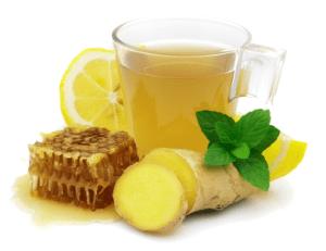 membuat-minuman-berkhasiat-lemon-ginger-honey-hangat