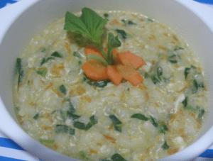 Resep Membuat Nasi Tim untuk Bayi Usia 10 Bulan