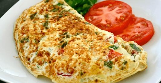 Cara Membuat Omelet Nasi Keju Spesial Menu Ramadhan