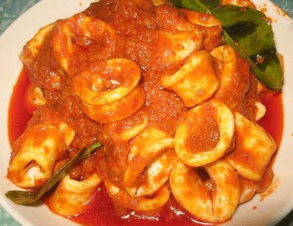 Resep Sambal Sotong Pedas Sedap Spesial Hidangan